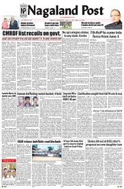 april 12 2017 by nagaland post issuu