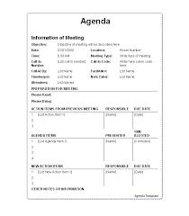 meeting agenda template 19 haiti pinterest money management