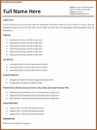 It Resumes Templates 10 It Resume Template Budget Template Letter