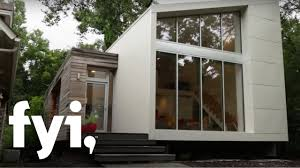 Pop Up Tiny House by Tiny House Hunting Seeking A Tiny Footprint Fyi Youtube