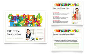 financial services presentation templates powerpoint