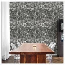 tempaper wallpaper tempaper village shadow removable wallpaper black white target