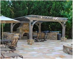 Pergola Kitchen Outdoor by Backyards Appealing Backyard Arbors Backyard Images Garden