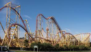 Six Flags Magic Mountain Directions Fourth Dimension 4d Coaster Videos U0026 Facts