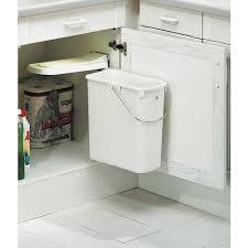 poubelle de cuisine sous evier poubelle sous évier 1 bac 19 litres westermann cuisine