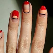 peach nails with design top 33 trends in pictures nails in pics