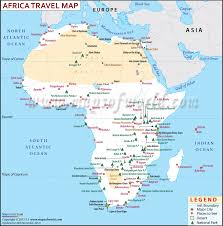 Map Of Africa And Europe by Africa Travel Information Map Places To Visit Major Cities