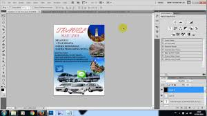 cara membuat poster manual tutorial membuat poster dengan photoshop cs5 youtube