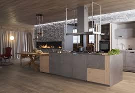 cuisiniste perene meuble de cuisine design puissance des matières brutes perene