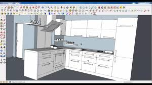 L Shaped Island In Kitchen Kitchen Designs Sketchup Tutorial Kitchen Cabinets L Shaped