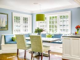 Banquette Seating Ideas Furniture Blue Upholstery Kitchen Banquette Seating Ideas With