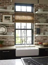 kitchens with brick walls pin by natasha boyd on kitchen remodel pinterest kitchens