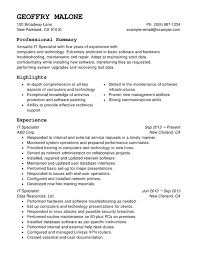 It Knowledge Resume Computers U0026 Technology Combination Resume Resume Help