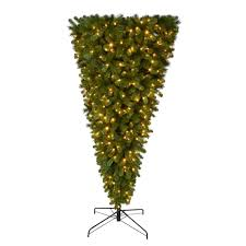 home accents 7 ft pre lit led wesley spruce artificial