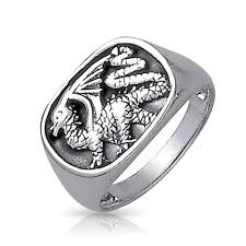 mens silver rings 925 sterling silver ring for men antique style