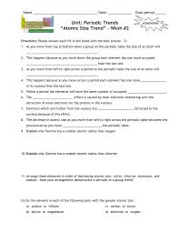 worksheet 1 unit three