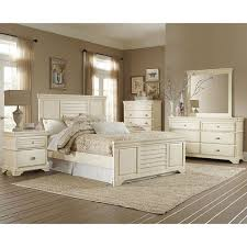 off white bedroom furniture home demarlos king uph bed pc bedroom