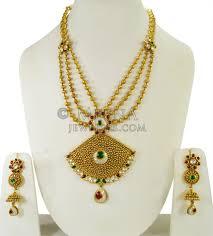 necklace set gold design images 22k gold kundan bridal necklace set stan24360 us 6 742 22k jpg