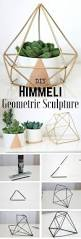 home decorating craft projects 17 easy diy home decor craft projects geometric sculpture decor