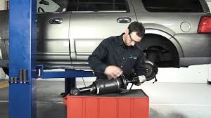 how to replace a rear air spring on the 2003 2006 ford expedition