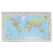 map pad bantex desk pad map of the officeworks