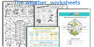 english teaching worksheets the weather