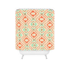 Southwest Shower Curtains Tile Tribe Southwest Shower Curtain Pattern State For Deny