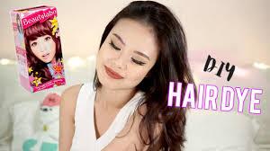 black hair to raspberry hair how i dye my hair at home beautylabo raspberry pink bahasa