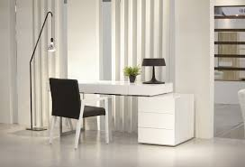 White Home Office Desks Features Of An Ergonomic Modern White Office Desk Marlowe Desk Ideas