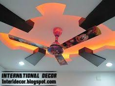 Design For Kids Room by Cool And Modern False Ceiling Design For Kids Room Interior