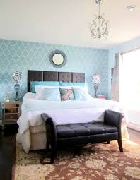 bedroom glamorous accent wall ideas beautiful bed set plus net