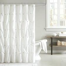 Cotton Waffle Shower Curtain Waffle Weave Shower Curtain White Cotton Waffle Weave Shower
