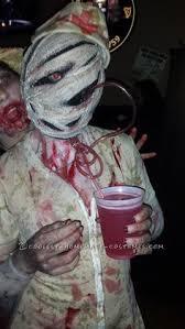 Contest Winning Halloween Costumes Creepy Homemade Group Costume Silent Hill Nurses Pyramid Head