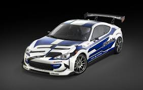 subaru drift car greddy scion fr s drift car unveiled at detroit show