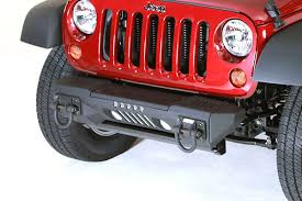 Rugged Ridge Jk Bumper All Things Jeep Xhd Aluminum Front Bumper With Winch Plate For