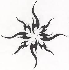 tribal sun by hollowminded deviantart com