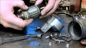 honda trx500fa starter motor repair youtube