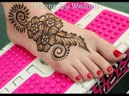 mehndi designs for legs simple and easy