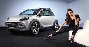 opel adam rocks opel adam rocks city car crossover concept revealed photos 1