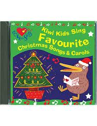 kiwi kids sing favourite christmas songs u0026 carols double cd kids