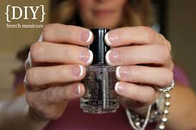 french manicure home