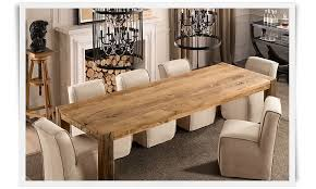 Wood Rectangle Dining Table Narrow Dining Table