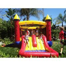 jumporange kiddo jump u0027n u0027 water slide fun house walmart com