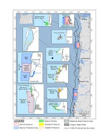 Map Oregon Coast by Nearshore Strategy Context Oregon Conservation Strategy