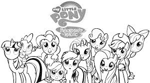 My Little Pony Coloring Pages Online Bestappsforkids Com Pony Color Page