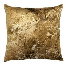 gold keystone marble decorative pillow 18 in at home at home gold keystone marble decorative pillow 18 in