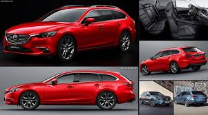 mazda new models 2017 mazda 6 wagon 2017 pictures information u0026 specs