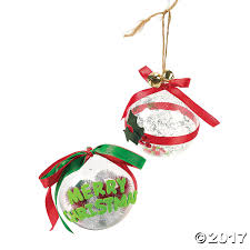 diy large clear christmas ornaments