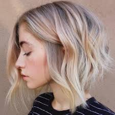 on trend the lob the mid length haircuts for girls wavy lob hair styles color styling