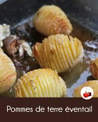 recette de cuisine au four pommes de terre éventail cuisson au four recette en vidéo
